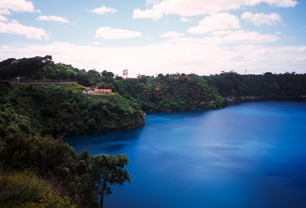 Blue Lake, Mount Gambier, South Australia.